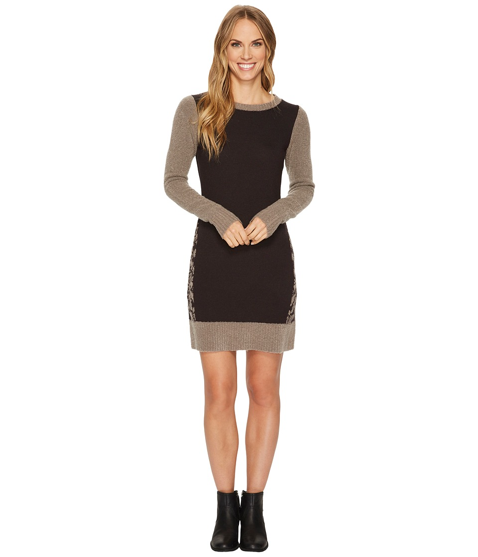 Toad&Co Lucianna Sweater Dress (Cocoa) Women