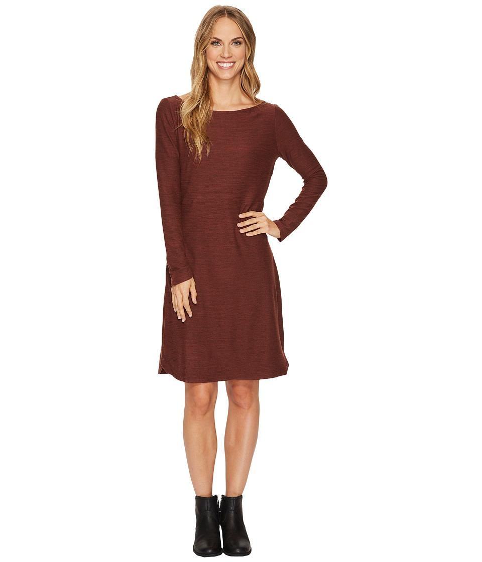 Toad&Co Intermosso Dress (Mahogany) Women