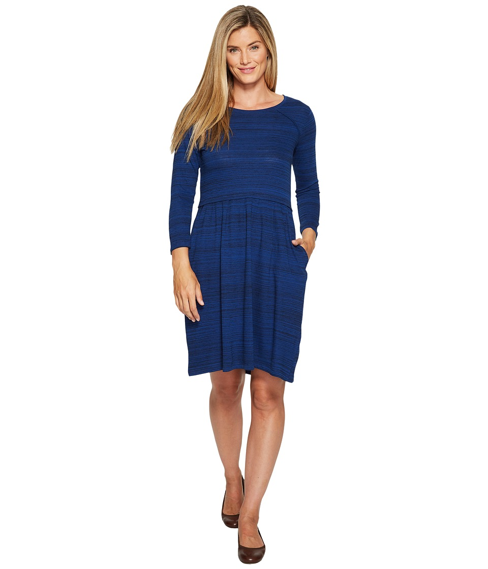 Toad&Co Imogene 3/4 Dress (Mariner Blue) Women