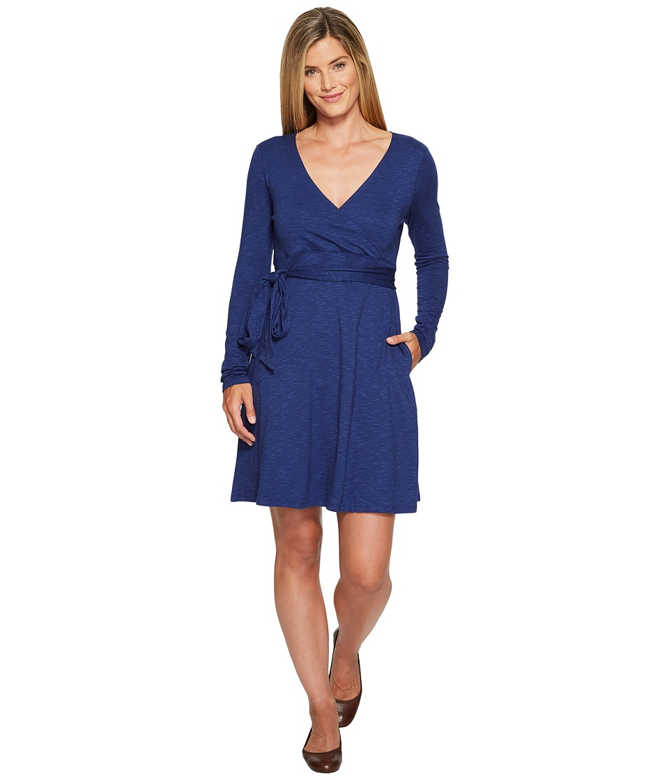 Toad&Co Cue Wrap Dress (Mariner Blue) Women