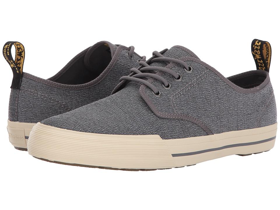 Dr. Martens Pressler 4-Eye Shoe (Mid Grey Serge) Men
