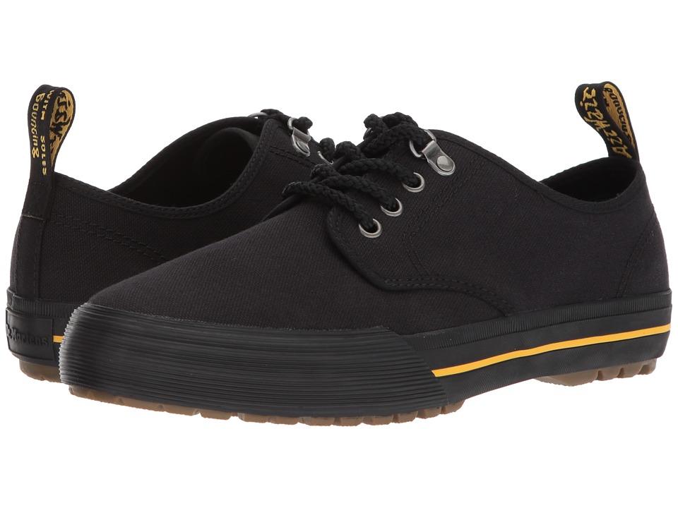 Dr. Martens Pressler 4-Eye Shoe (Black 14oz. Canvas) Men