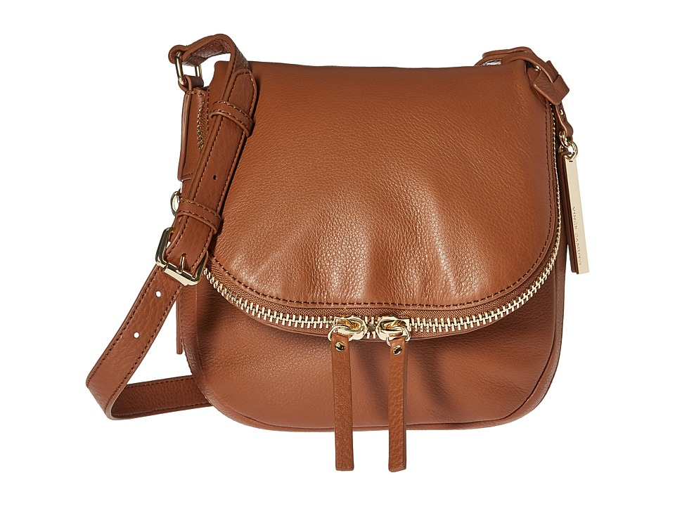 Vince Camuto - Baily Crossbody (Whiskey) Cross Body Handbags