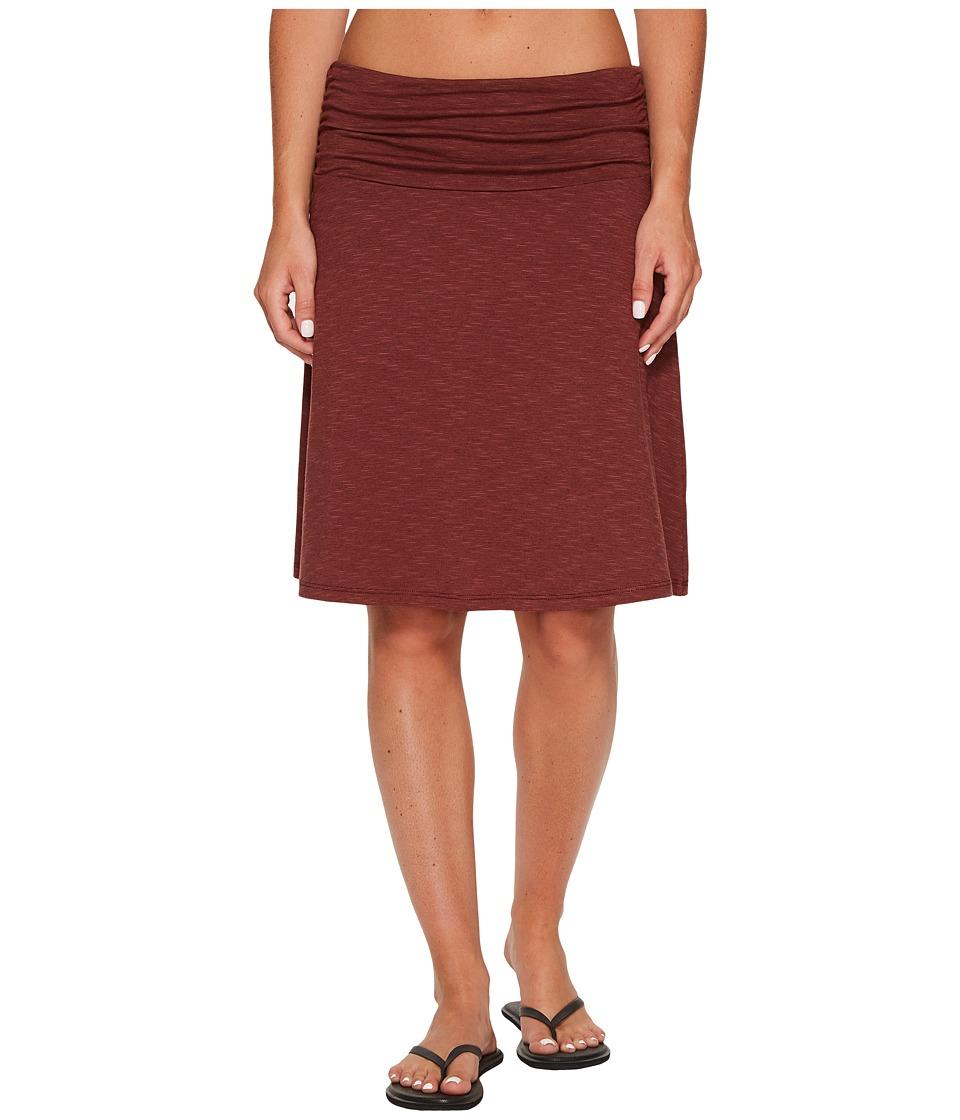 Toad&Co Chaka Skirt (Mahogany) Women
