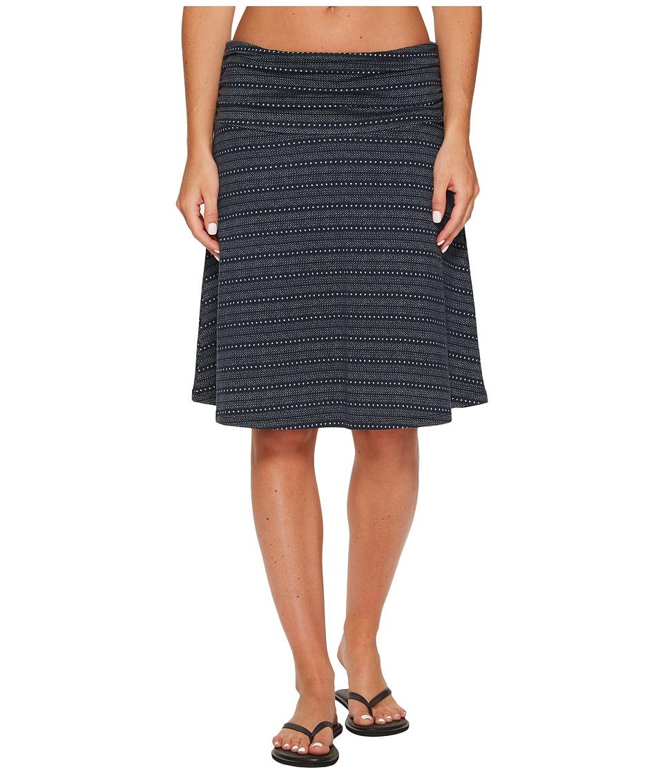 Toad&Co Chaka Skirt (Deep Navy Dot Print) Women