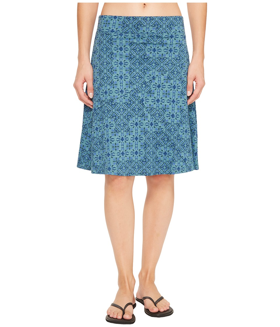 Toad&Co Oblique Skirt (Hydro Patchwork Print) Women