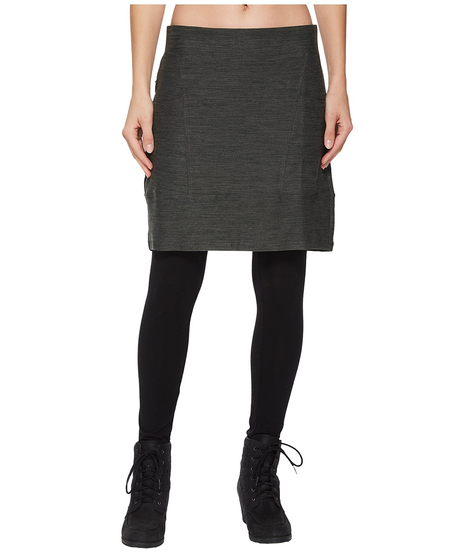 Toad&Co Intermosso Skirt (Dark Graphite) Women