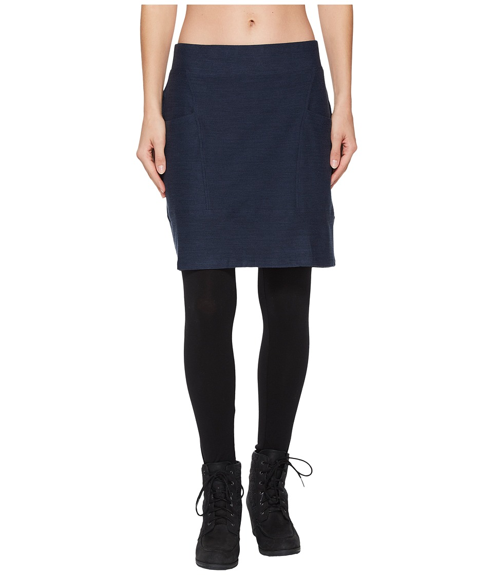 Toad&Co Intermosso Skirt (Deep Navy) Women