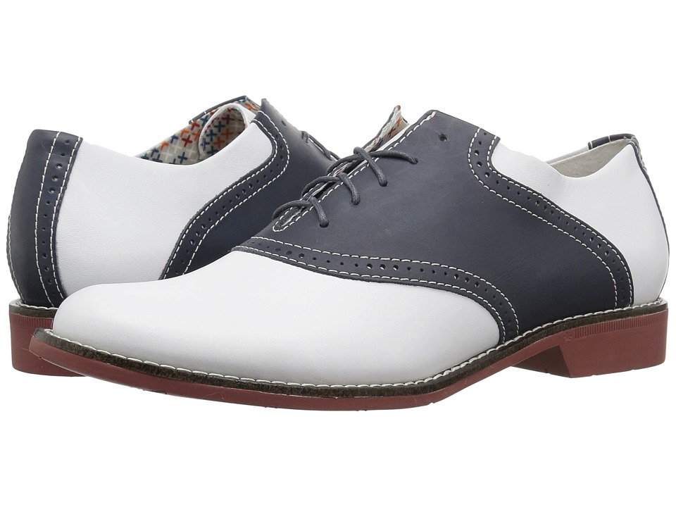 G.H. Bass & Co. - Dora (Navy/White Full Grain) Womens Shoes