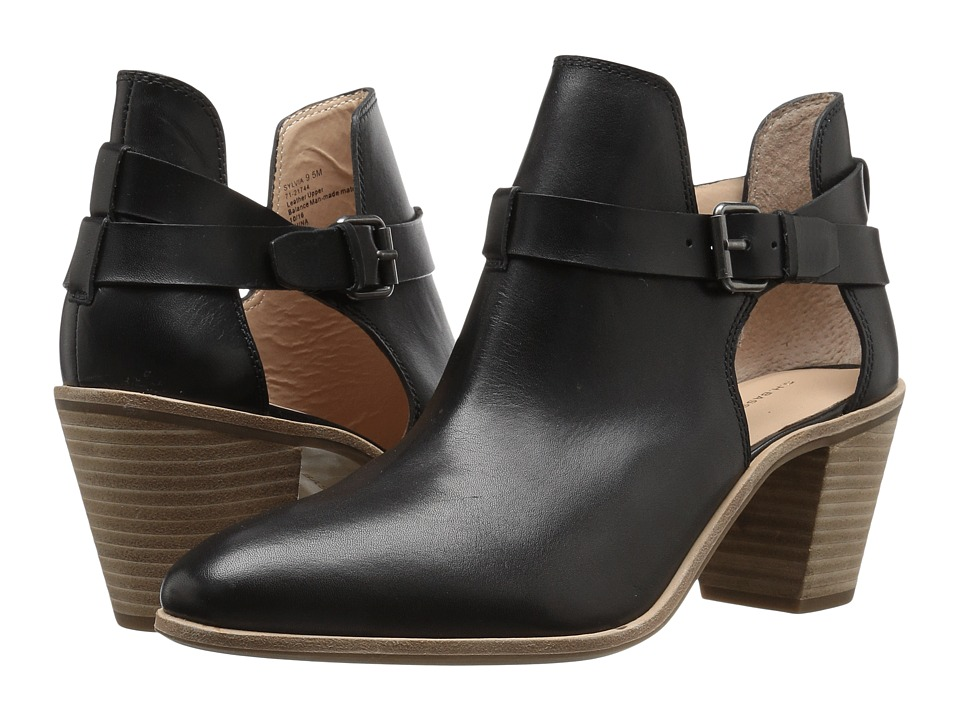 G.H. Bass & Co. Sylvia (Black Leather) Women