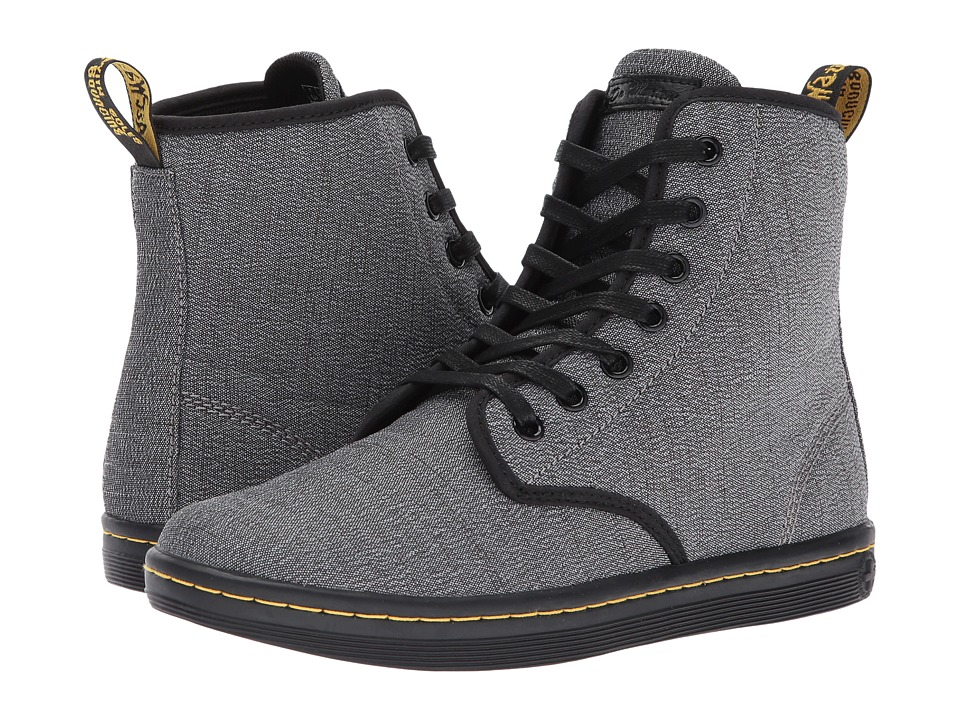 Dr. Martens Shoreditch 7-Eye Boot (Mid Grey Serge) Women