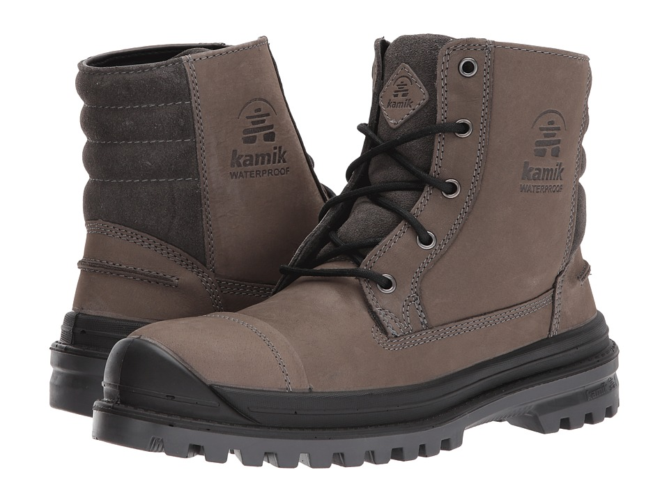 Kamik - Griffon (Charcoal) Mens Lace-up Boots