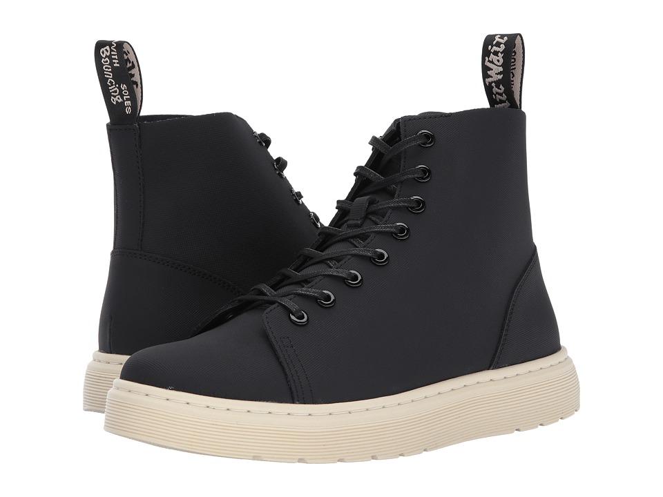 Dr. Martens Talib 8-Eye Raw Boot (Black Ajax) Lace-up Boots