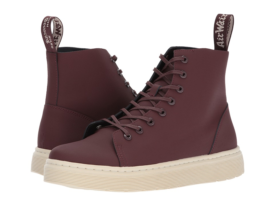 Dr. Martens Talib 8-Eye Raw Boot (Old Oxblood Ajax) Lace-up Boots