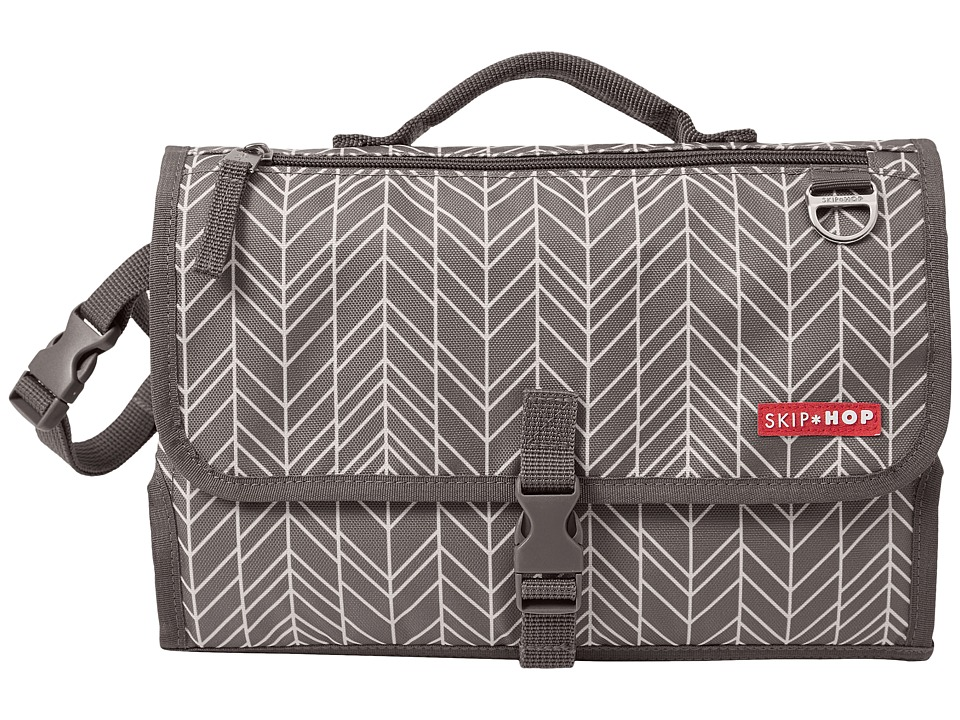 Skip Hop - Pronto Changing Station (Grey Feather) Diaper Bags