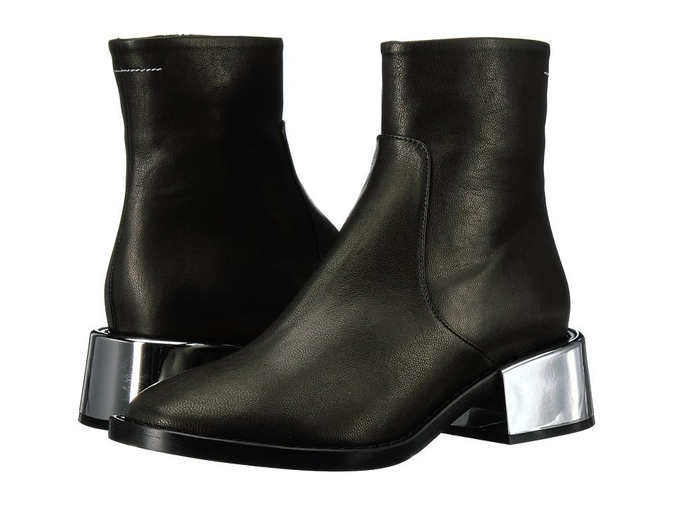 MM6 Maison Margiela - Metallic Heel Chelsea Boot