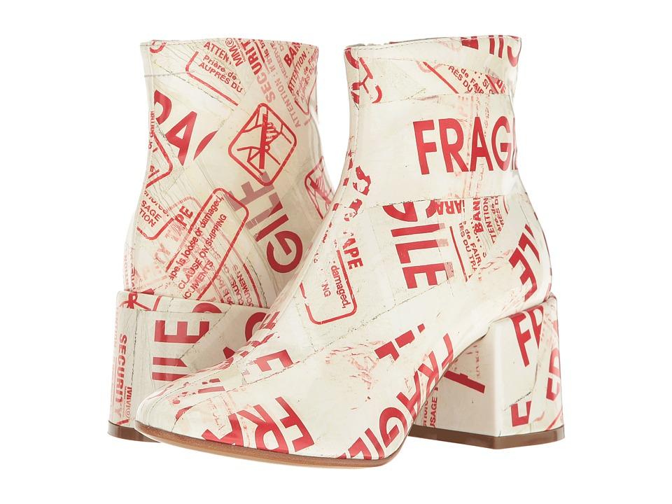 MM6 Maison Margiela - Fragile Graphic Boot