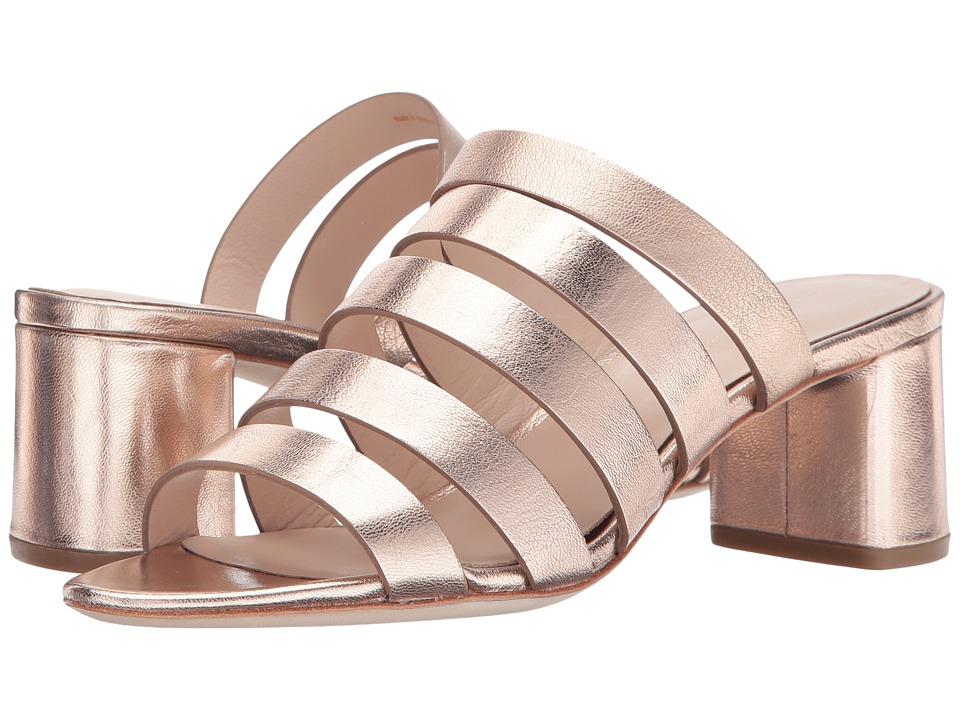 Loeffler Randall Finley (Rose Gold Metallic Leather) Women