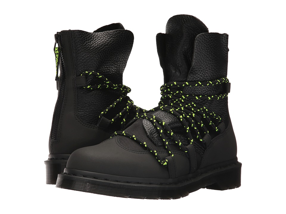 Dr. Martens Zelda Extreme Lace Boot (Black Concept/Black Highgrosy Polyester) Women