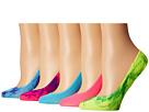 Steve Madden 5-Pack Tie-Dye Mesh Footie
