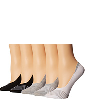 Steve Madden - 5-Pack Back Cuff Footie