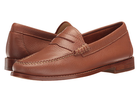 G.H. Bass & Co. Whitney Weejuns - Tan Soft Tumbled Leather