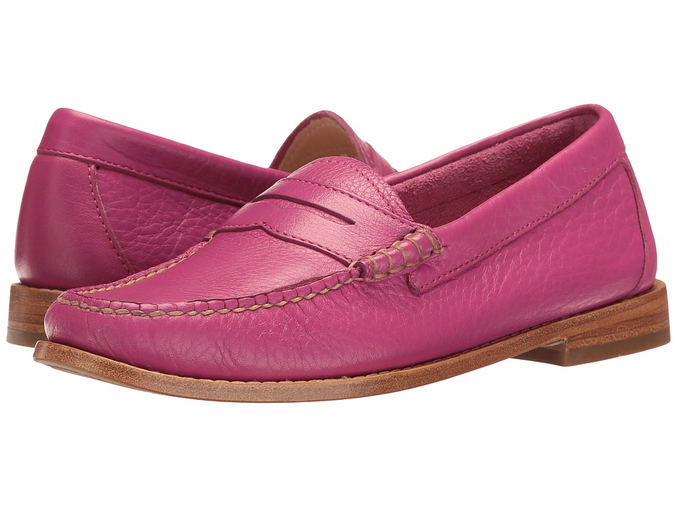 G.H. Bass & Co. Whitney Weejuns (Magenta Soft Tumbled Leather) Women