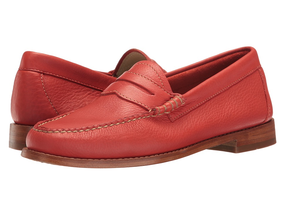 G.H. Bass & Co. Whitney Weejuns (Poppy Soft Tumbled Leather) Women