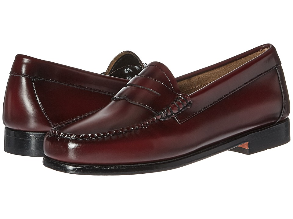 G.H. Bass & Co. Whitney Weejuns (Cordovan Box Leather) Women's Shoes