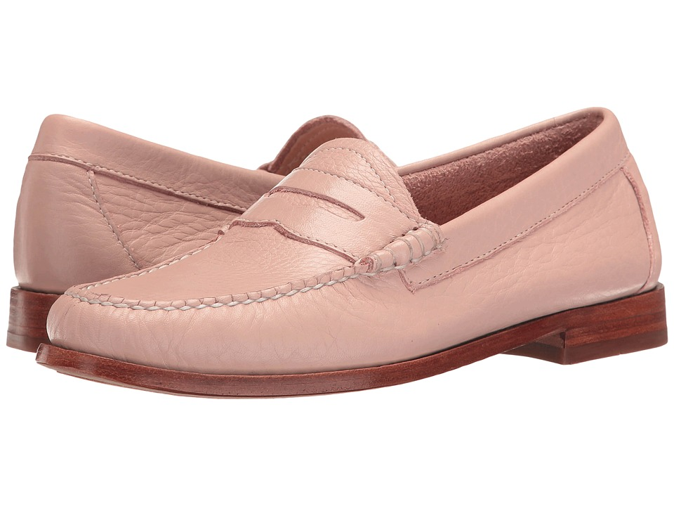 G.H. Bass & Co. Whitney Weejuns (Blush Pink Soft Tumbled Leather) Women