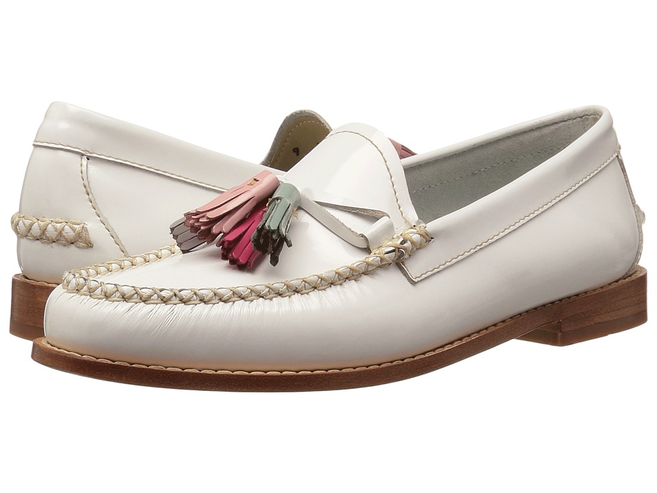 G.H. Bass & Co. Willow Weejuns (White Patent Leather) Women