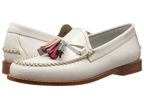 G.H. Bass & Co. Willow Weejuns - White Patent Leather