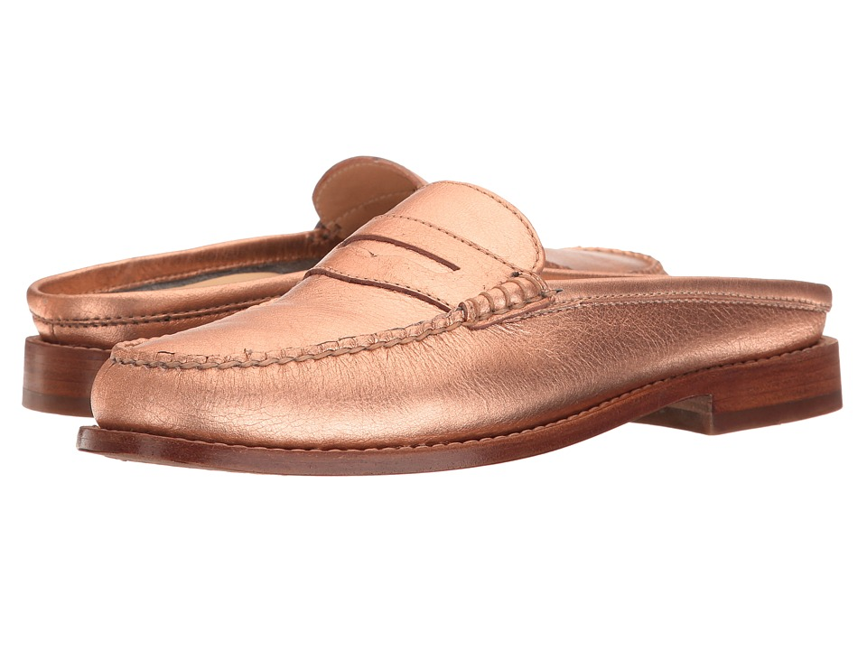 G.H. Bass & Co. Wynn Weejuns (Copper Metallic Leather) Women