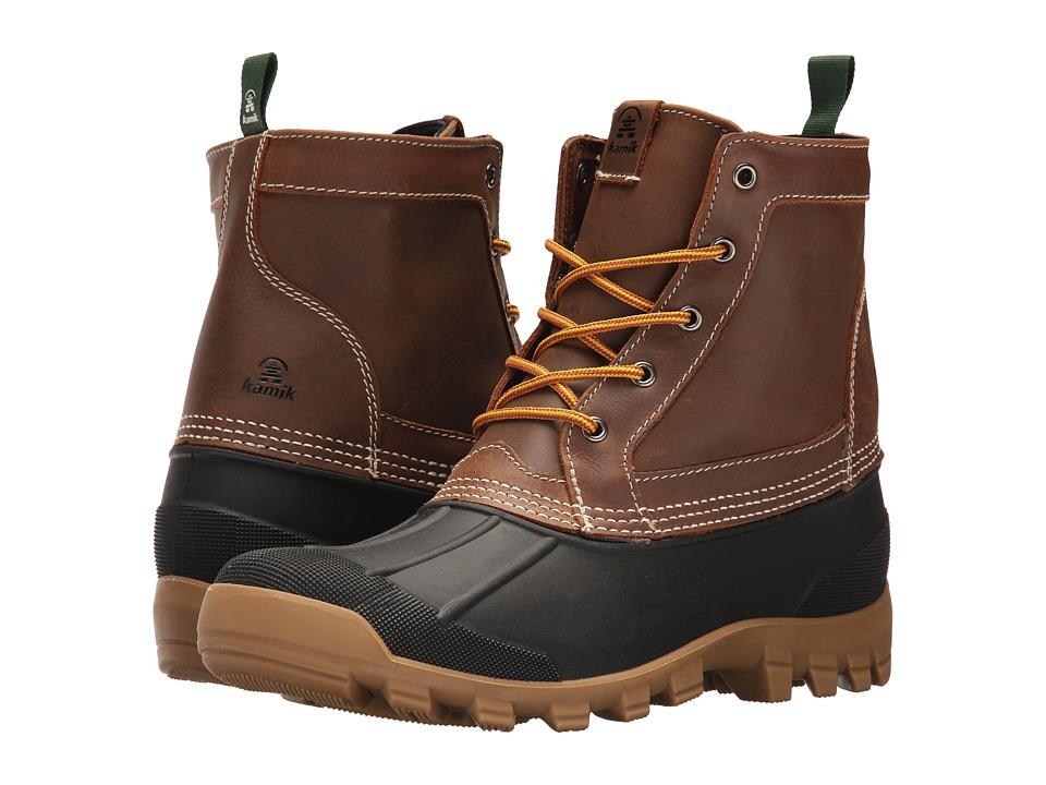 Kamik - Yukon 5 (Dark Brown) Mens Cold Weather Boots
