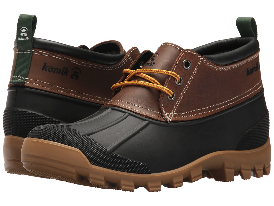 Kamik - Yukon 3 (Dark Brown 1) Mens Lace up casual Shoes