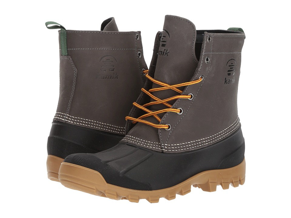Kamik - Yukon 6 (Charcoal) Mens Cold Weather Boots