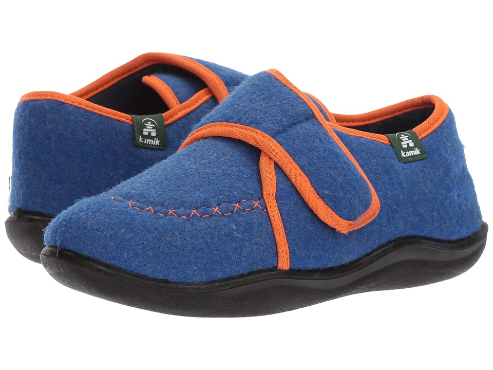Kamik Kids Cozylodge (Toddler/Little Kid/Big Kid) (Blue) Boy's Shoes