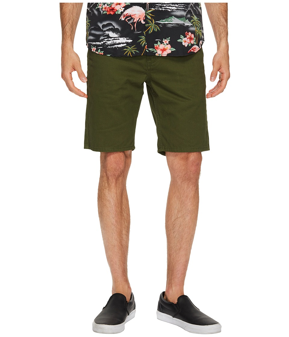 Quiksilver Everyday Chino Shorts (Rifle Green) Men