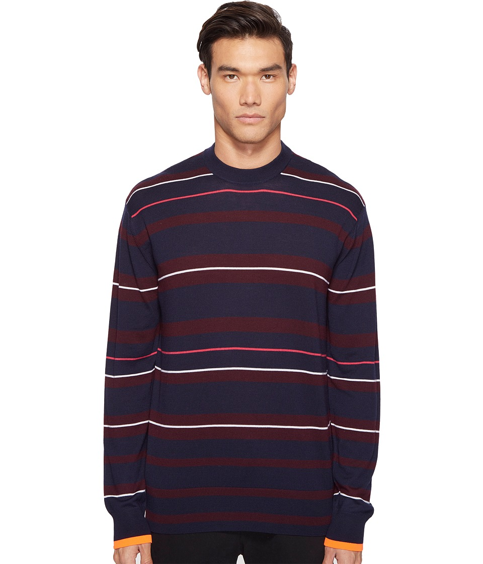McQ - Fine Stripe Sweater