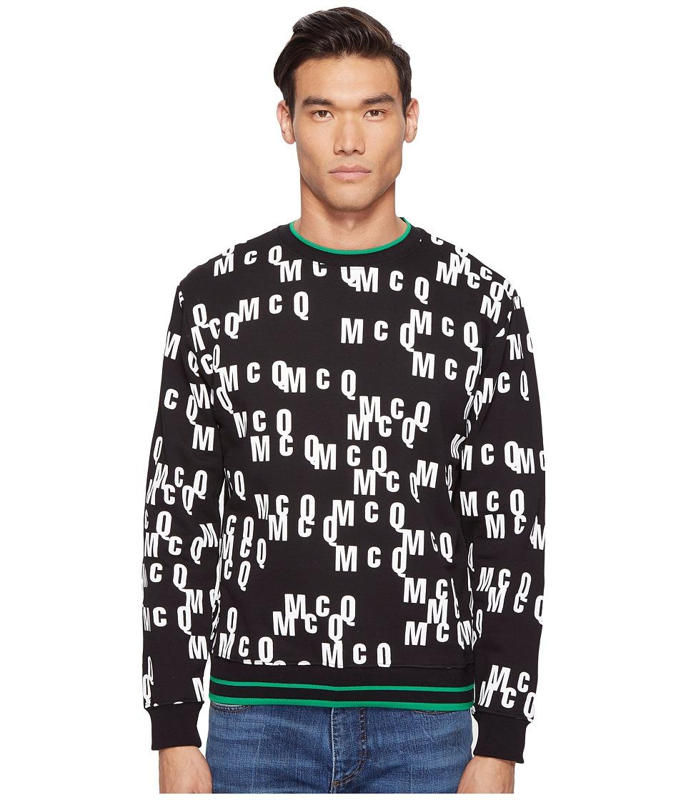 McQ McQ - All Over Logo Sweatshirt