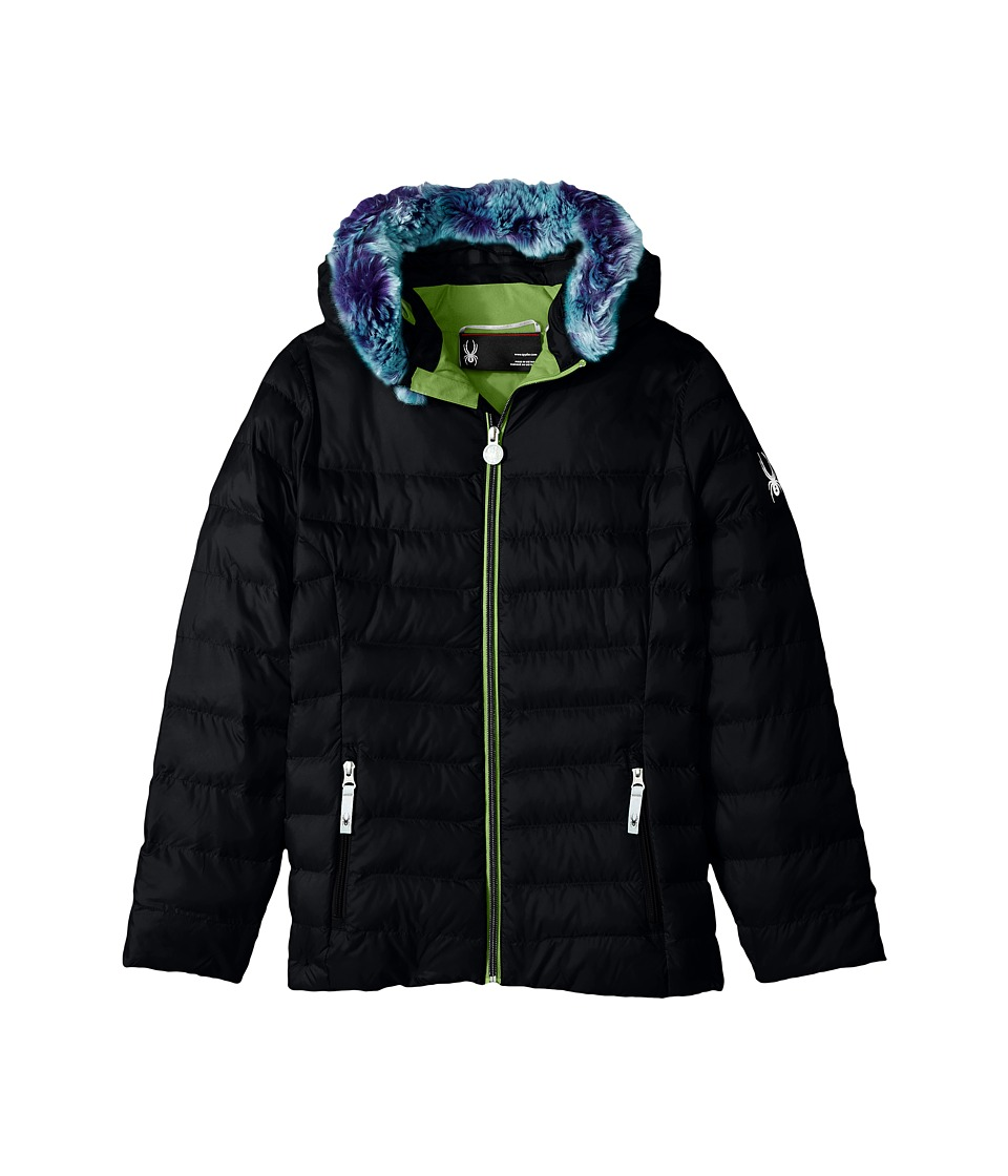 Spyder Kids - Timeless Hoodie Faux Fur Down Jacket (Big K...