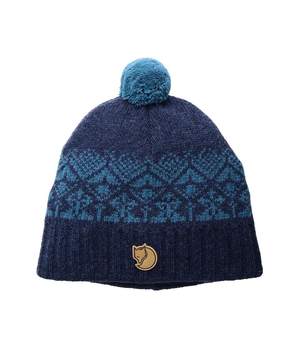 Fjallraven Kids - Kids Snowball Hat (Blueberry) Caps