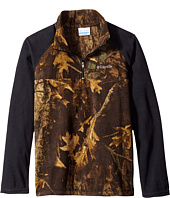Columbia Kids - Glacial II Print 1/2 Zip (Little Kids/Big Kids)