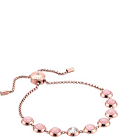 Michael Kors - Tone Crystal and Rose Quartz Slider Bracelet