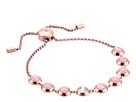 Michael Kors - Tone Crystal and Rose Quartz Slider Bracelet