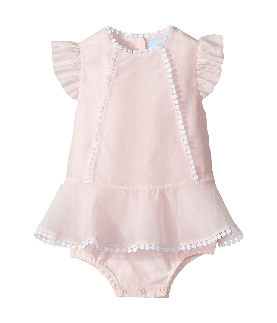 Lanvin Kids - Bodysuit w/ Dress Overlay