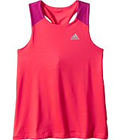 adidas Kids - Color Blocked Twist Back Tank Top (Big Kids)