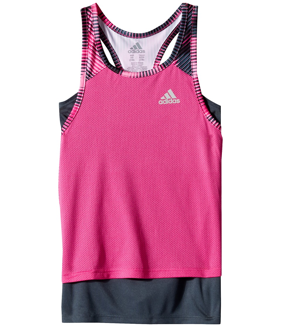 adidas Kids - Layer Up Twofer Tank Top