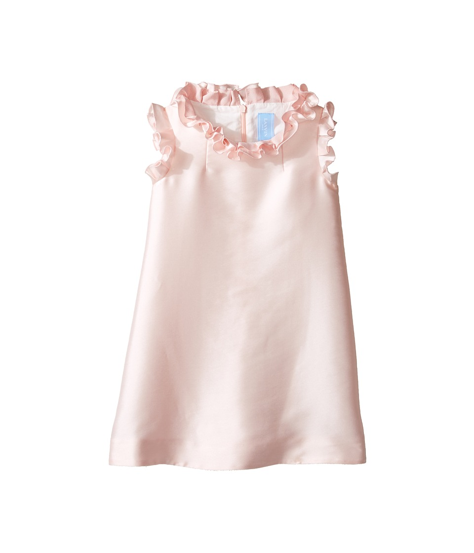 Lanvin Kids - Dress w/ Ruffle Collar Sleeve Detail