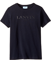 Lanvin Kids - Short Sleeve Logo T-Shirt (Little Kids/Big Kids)